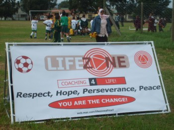 LIFE ZONE SOCCER participates in social transformation initiatives in poor communities in Cape Town's surrounding communities